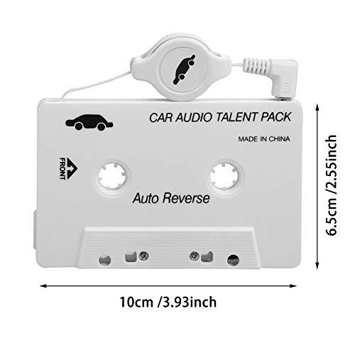 Car Tape Adapter für Ihr Autoradio zum verbinden mit Ihrem SmartphoneMP3/MP4/CD/MD/PC ()
