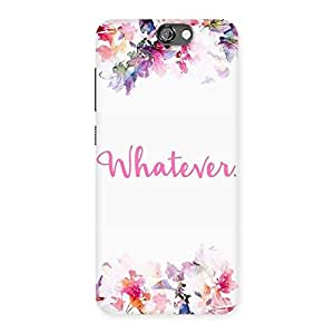 Neo World Whatever Back Case Cover for HTC One A9