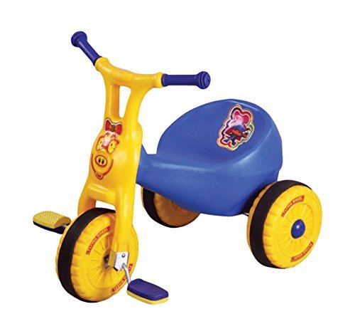 Toyshine Ducky Baby Tricycle Ride-on Bicycle, ABS Plastic, Unbreakable, Blue, 1-2 Years  available at amazon for Rs.1299