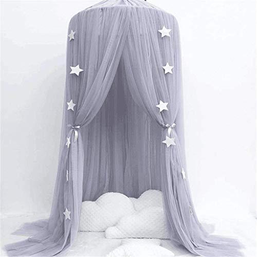 YFQ Vorhang Vorhang Kuppel Prinzessin Moskitonetze Moskitoschutznetz Krippe Insektennetz Schutzraum Babybett Zelt Kinderhimmel Anwendbares Bett (Color : C)