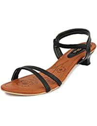 Amazon.in: Kitten Heel - Fashion Sandals / Women's Shoes: Shoes ...