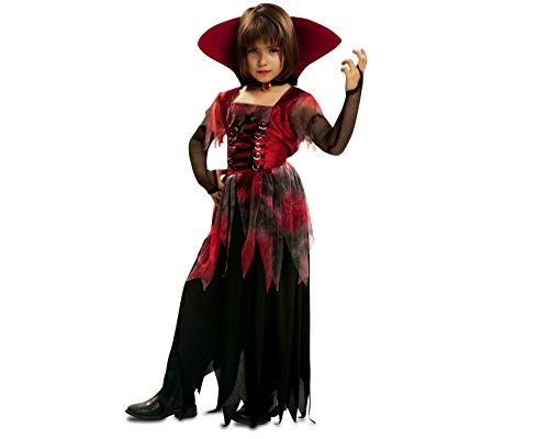 Imagen de my other me  disfraz de vampiresa gótica, para niños de 7 9 años viving costumes mom00174