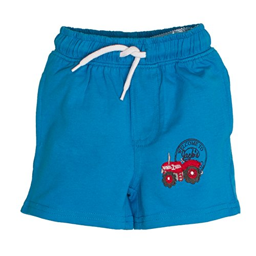SALT AND PEPPER Baby-Jungen Shorts B Bermuda L. Farm Uni, Blau (Malibu Blue 448), 62