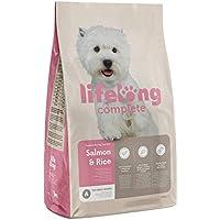Amazon-Marke: Lifelong Complete Komplett-Trockenfutter für ausgewachsene (ADULT) kleine Hunde, mit Lachs und Reis, 1 x 10 kg