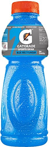Gatorade Sports Drink - Blue Bolt Flavour, 500ml Bottle