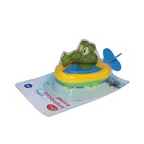 Etbotu Badespielzeug Plastik Pull String Ente Krokodil Pelikan Tier Boot Schwimmen Bathtime Fun Bathtub Spielzeug f¨¹r Jungen M?dchen Kinder