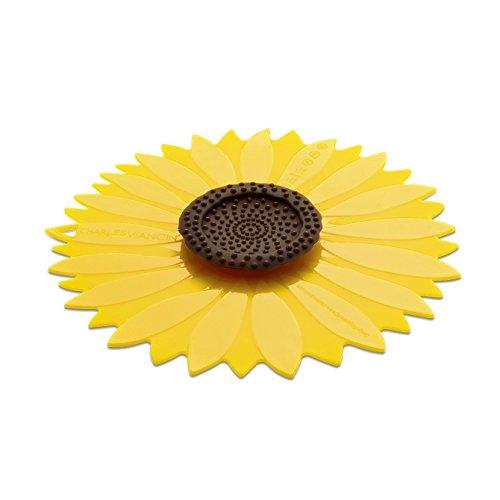 Charles Viancin Silikon 1101eu Sonnenblume Deckel Gelb 33,5x 32,5x 2cm