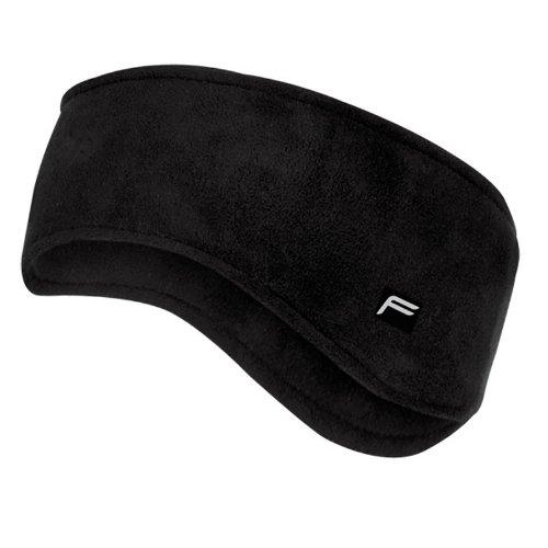 F Lite Head Accessoires Windbreaker Headband, Black, One size, 36-6006-0-8-0002