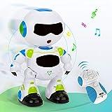 EARSOON Telecomando RC Robot Christmas elettronico Learning Giocattoli Intelligenti Action Dancing Music Lights Bambini