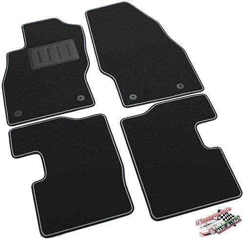 il-tappeto-auto-sprint03407-tappetini-moquette-nera-antiscivolo-bordo-bicolore-salvatacco-rinforzato