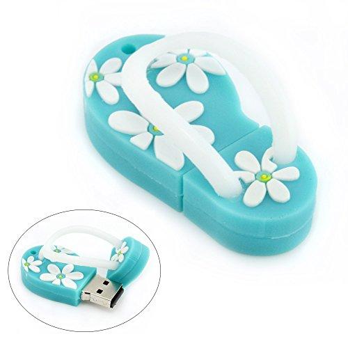 aretop-32go-cle-usb-flash-drive-en-forme-de-plage-sandal-avec-motif-de-fleurs-bleu