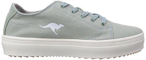 KangaROOS K-Mid Plateau 5071, Low-Top Sneaker donna Turchese (Türkis (blue surf 841))