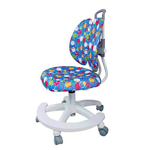Zyy Kind Lernen Stuhl Aufwachsen Aufzug Multifunktion Verhindern Buckel Korrektur Doppelte Rückenlehne Studentenstuhl Zum 100 * 180cm Kind (Farbe : Blau) -