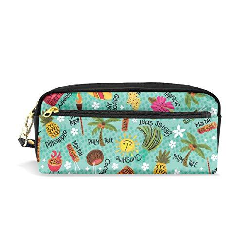Es ist eine Tiki Party! _29839 Kosmetiktaschen Federmäppchen Tragbare Reise Make-up Organizer Multifunktions Tasche Taschen für Frauen -