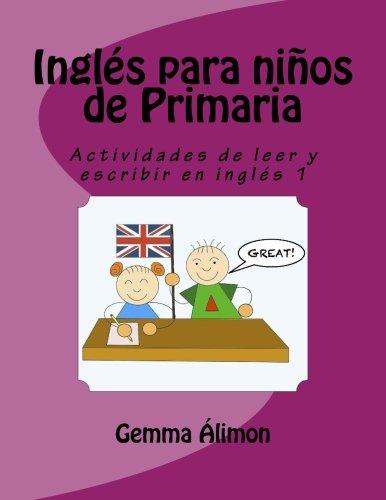 Inglés niños Primaria: Actividades leer escribir