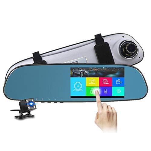 """X&Y 1080P Dual-Kamera Mit 5,0\""""Streaming-Bildschirm, 170 ° Spiegel Autokamera, G-Sensor, Nachtsicht, Parkmodus, Loop-Aufnahme"""