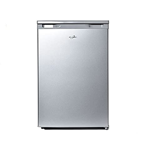 Statesman R155S Under Counter Fridge with 4* Ice Box, 55cm, Silver