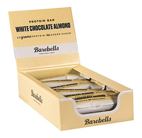 Barebells Barbells Protein Bars 55g x 12 12 bars Salty peanut 12 bars White chocolate almond