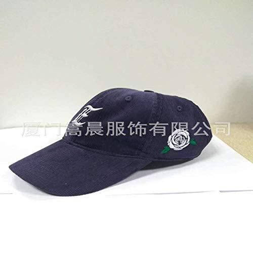 zhuzhuwen Hut Koreanische Version der männlichen Kordkappe Fashion Painter Hut Outdoor Freizeit Newspaperboy Baseball Cap 2 48-56cm (Männliche Outfit Fee)
