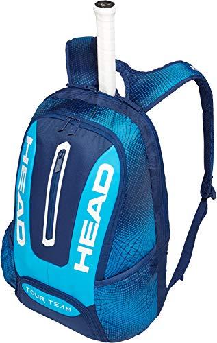 HEAD Tour Team Rucksack Tennisschlägertasche, Unisex, 283149NVBL, Marineblau/blau, Einheitsgröße