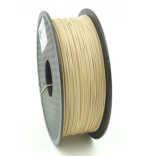 SIENOC 1Kg Legno Colore PLA 1,75mm 3D Printer Filamento Spool 3D Materiale di stampa per stampanti