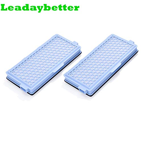 Leadaybetter HEPA-Filter aktiv Luftfilter-Staubsauger SF-HA 50 AirClean für Miele S4 S5 S6 S8 und S4000 S5000 S6000 S8000 (2-Pack) -