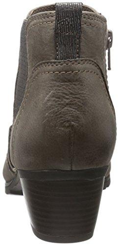 Jana Damen 25317 Chelsea Boots Braun (Cigar 314)