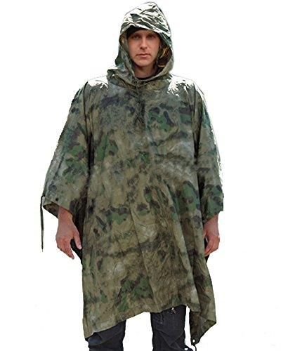 Mil-Tec Poncho Ripstop A-TACS FG for sale  Delivered anywhere in UK