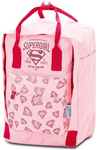 Kindergartenrucksack für Jungs und Mädchen - Kleiner Rucksack für Kinder - Mini Kinderrucksack - Babyrucksack (Supergirl)