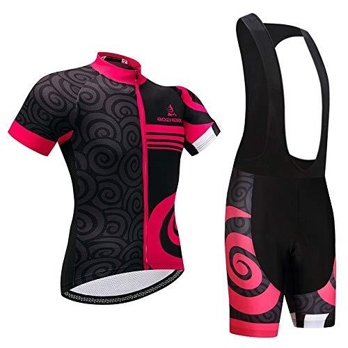 Be82aene Schnelltrocknender Herren- und Damen-Rennrad-Kurzarmtrikotanzug Outdoor Sports Outdoor Reitbekleidung (Color : 1, Size : XXL)
