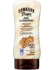 Hawaiian Tropic - Y00609A0 - Lotion Solaire Hydratante - Silk Hydration - SPF 50
