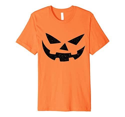Jack O Lantern T-Shirt Halloween Kürbis Gesicht ()