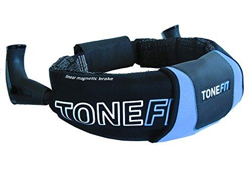 TONEFIT Belt- Bekannt aus Die Höhle der Löwen Gürtel für Walking und Jogging auf höchstem Niveau. Die smarte Erfindung im Laufsport. FlexPoint Set mit Booklet Rückentipps ABC