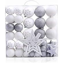 Weihnachtsdeko In Silber Und Weiß.Suchergebnis Auf Amazon De Für Weihnachtsdeko Weiß Silber