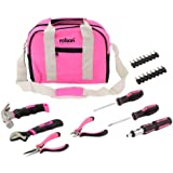 Rolson 36802 Pink Tool Bag Kit - 25 Pieces