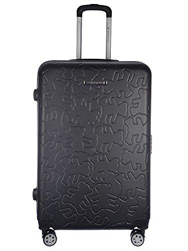 Valise rigides 15029-3BLK-70 Noir - Lulu Castagnette