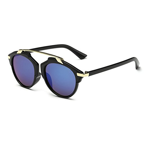 QHGstore Marco de las mujeres de los hombres gafas de sol al aire libr