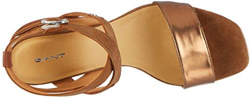 Gant Footwear 14563716, Sandali Donna Marrone (Copper+Cognac)
