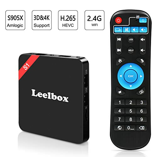 S1 Android TV Box, Quad-Core Smart TV Box, 4K*2K UHD H.265, HDMI, USB*2, WiFi Media Player, Android Set-Top Box