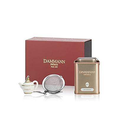 Dammann Frères - Coffret Tuileries - Thé Vert Miss Dammann et son Infuseur …