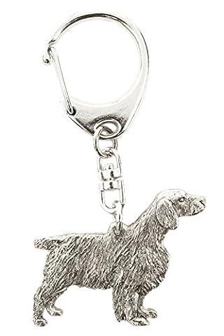 Welsh Springer Spaniel Made in U.K Artistic Style Dog Key