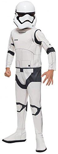 Star Wars Storm Trooper der Ersten Ordnung Kostüm für Kinder, Größe:S