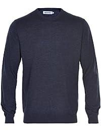 MATINIQUE Fernandes Fine Tricoter Merino Laine Cavalier Légion Bleue