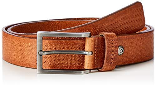 Bugatti Herren Gürtel 37600-1667 Braun (Cognac 070) 100