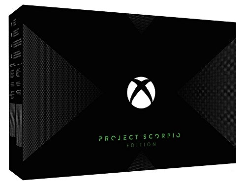 Xbox One X 1 To - Scorpio Project - Edition lim