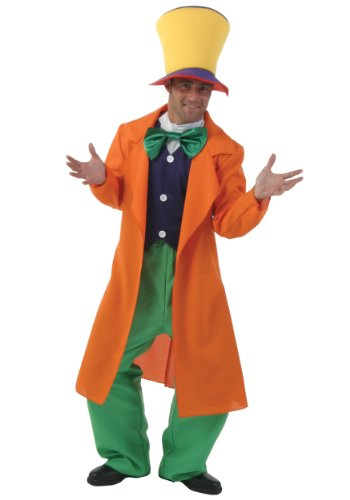 Mad Hatter Adult Fancy dress costume -