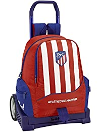 Atlético de Madrid Mochila con Carro Ruedas Evolution, Trolley.