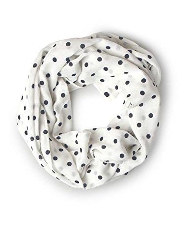 Street One Damen 570613 Schal, Mehrfarbig (Off White 20108), One Size (Herstellergröße: A)
