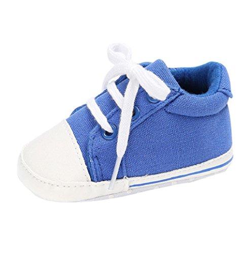 Turnschuhe Rosennie Turnschuhe Baby Mädchen Krippe Weich Schuh Blau