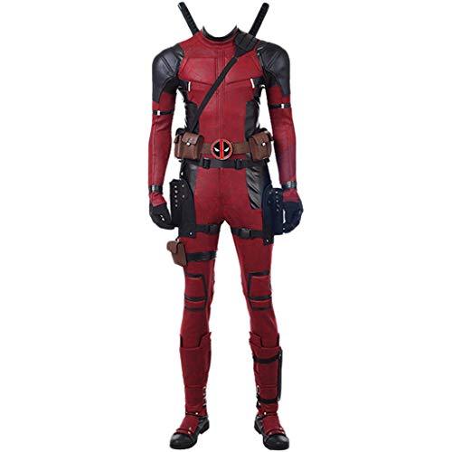 1 Replik Kostüm Anzug gehören Masken Bodysuit Zubehör Waffen Halloween Cosplay vollen Satz von cos benutzerdefinierte,Red-Custom Made ()
